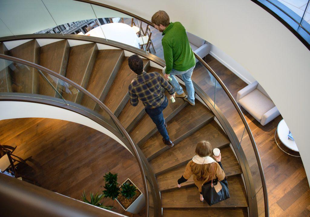UVA_MSBA_Students_On_Stairs